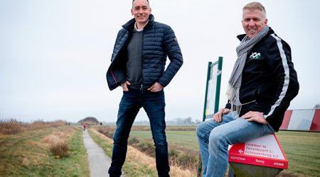 Wandelen en fietsen langs de Broeresleat, Dick Schuurman en Domien Ettema